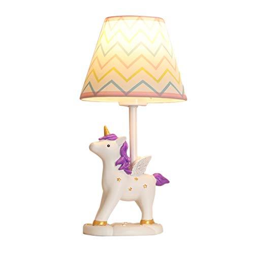 Creative Licorne Bande Dessinée Lampe De Bureau Garçons Et Filles Chambre Lampe De Chevet Décoration For Enfants Décoration LED Lampe De Table Chaude Nuit Lumière