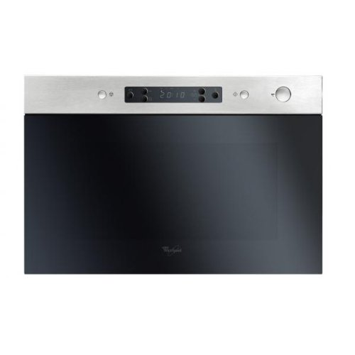 Whirlpool AMW 492 IX Four Micro-Ondes Gril Intégrable 22 L Inox anti-traces