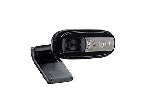 Logitech C170 Webcam, 5 MP. microfono, Nero/Antracite (Accessorio)