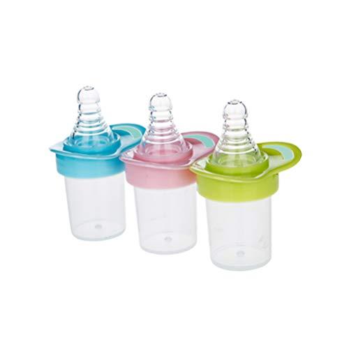 Exceart 3 Stücke Babyflaschen Baby Medizin Schnuller Plastikflaschen Milch Medizin Wasser Dispenser mit Skala für Baby Kleinkinder Neugeborenen