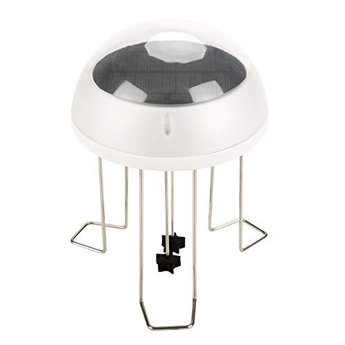 Solar Power Water Wiggle Rührwerk für Vogelpapageienbad