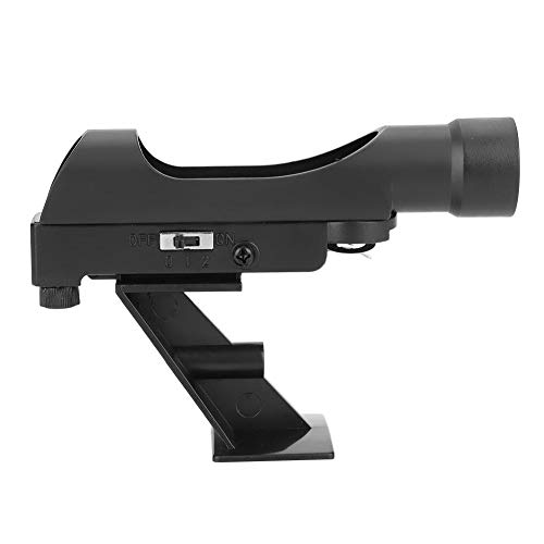 Red Dot Finder Scope, Astronomical Telescope Viewfinder Star Finder Scope, for Meade/Celestron 80EQ 80/90DX SE Astro Telescope Mounting Achromatic Finder Scope