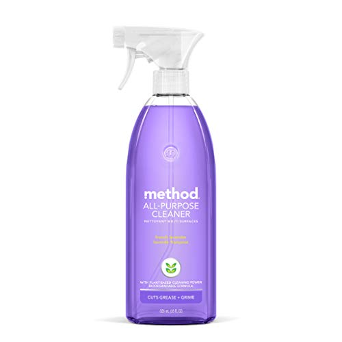 Method All-Purpose Cleaner, French Lavender, 28 Ounce, 1 pack, Packaging May Vary