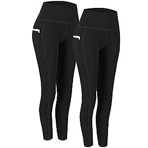 2 Pack High Waist Yoga Pants