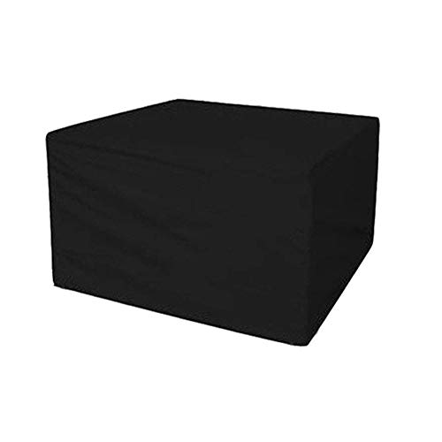 LCA Garden Furniture Covers Garden Furniture Covers Patio Set Cover Waterproof Dustproof Table Chairs Outdoor Protective Cover (Color : Black, Size : 270x180x89cm)