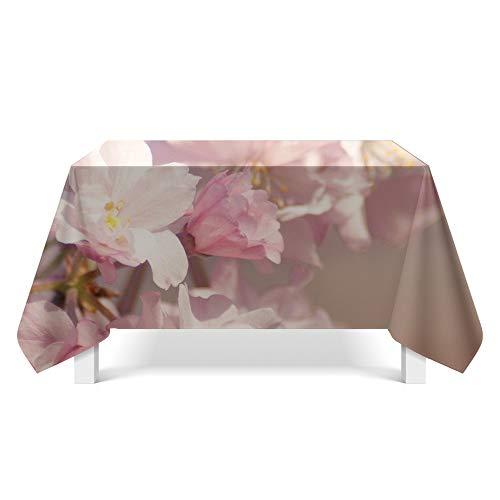DREAMING-Kleine Frische Stoff Tischdecke Home Esstisch Stoff Tv-Schrank Couchtisch Stoff Runde Tisch Tischset 140cm * 140cm