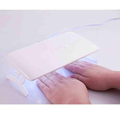 Lampes UV Sèche-ongles à LED Double source de lumière UV Machine à ongles Portable Lampe de cuisson à séchage rapide