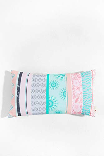 Desigual Cushion Nordic Straps Kissen rechteckig Kunstfaser Hellrosa 30x 50cm