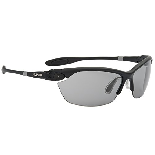 Alpina Sonnenbrille Performance TWIST THREE 2.0 VL Sportbrille, schwarz matt, one size