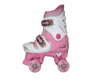 California Pro Rollo PG 4 Kinder verstellbarer Schlittschuh (Pink), EU 33 (UK 2 Kinder)