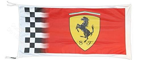 Cyn Flags Ferrari KARIERT Amazing Fahne Flagge 2.5x5 ft 150 x 90 cm