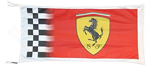Cyn Flags Ferrari KARIERT Amazing Fahne Flagge 2.5x5 ft 150 x 90 cm