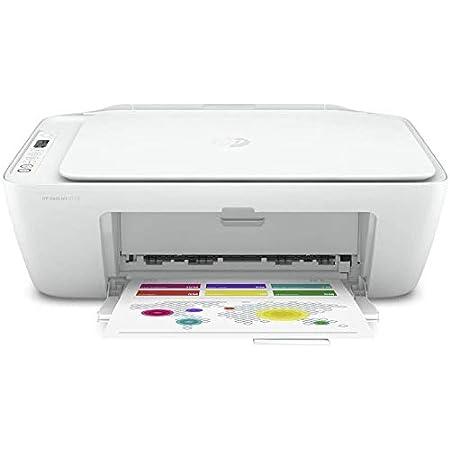 HP Deskjet 2720 Imprimante Tout-en-Un Jet d'Encre Couleur et Noir/Blanc (A4, Wifi, Bluetooth, HP Smart, Impression, Copie, Numérisation, 2 Mois de Forfait Instant Ink Inclus avec l'imprimante)