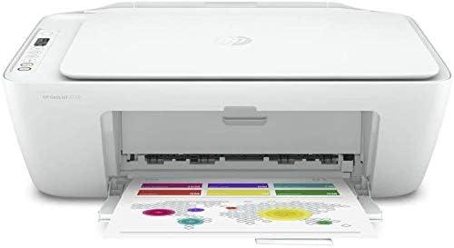 HP Deskjet 2720 Imprimante Tout-en-Un Jet d'Encre Couleur et Noir/Blanc (A4, Wifi, Bluetooth, HP Smart, Impression, C...