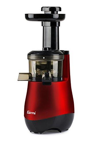 Girmi SW10 Estrattore di Succo, 150 W, 1 Liter, Plastica, Rosso