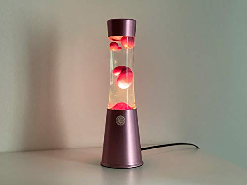 I-Total - Basis Lava Lampe (Rosa Metallic)