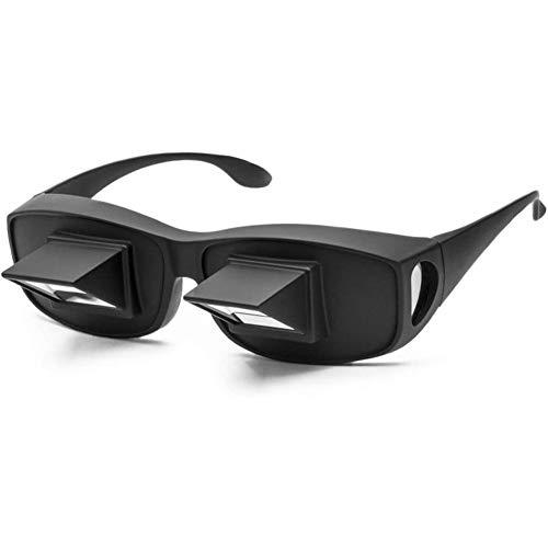 winnerruby Horizontales Prisma Lazy Glasses | Lesebrille | Periskop Brillen | Spektakel Zum Lesen Und Fernsehen Im Bett, Während Sie Flach Liegen