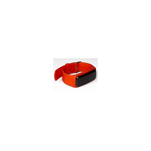 Swiss-Pro 280205 Smartwatch, Bluetooth 4.0, digitale Uhrzeitanzeige, Benachrichtigung bei Anrufen/SMS, Rot