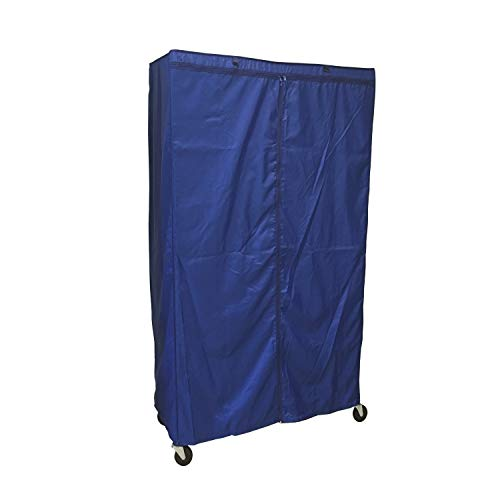 Formosa Covers Storage Shelving Unit Cover, fit Racks 36 Wx18 Dx72 H (Cover Only, Royal Blue)