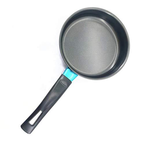 FULANTE Koekenpan met antiaanbaklaag, 14/16 / 18cm mini-antiaanbaklaag, plat ei-koekje, inductiekookpan
