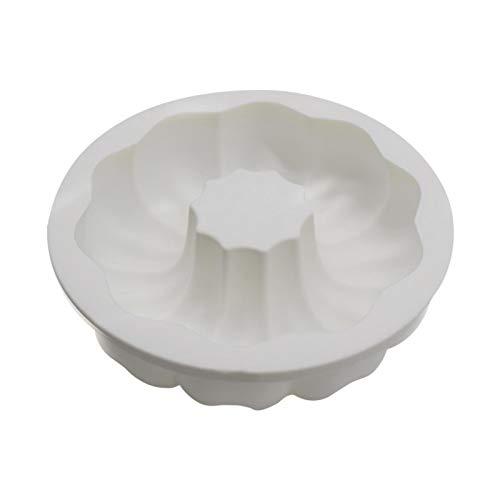 Guirnalda redonda para pasteles fronterizos de silicona, molde de espuma redonda, guirnalda, DIY flor, guirnalda
