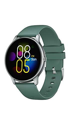 YAMAY Smartwatch Mujer Hombre Reloj Inteligente Impermeable IP68 para iOS Android Telephone, Pulsera Actividad Inteligente para Deporte con Monitor de Sueño Contador de Caloría Podómetro Cronómetros