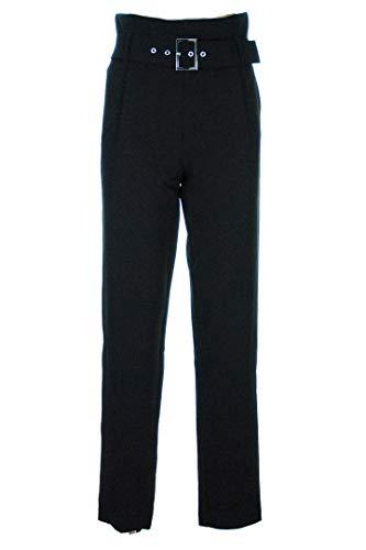 Morgan DE TOI Pantalone Donna Vita Alta Pinces Cintura Nero PWAYAN 44