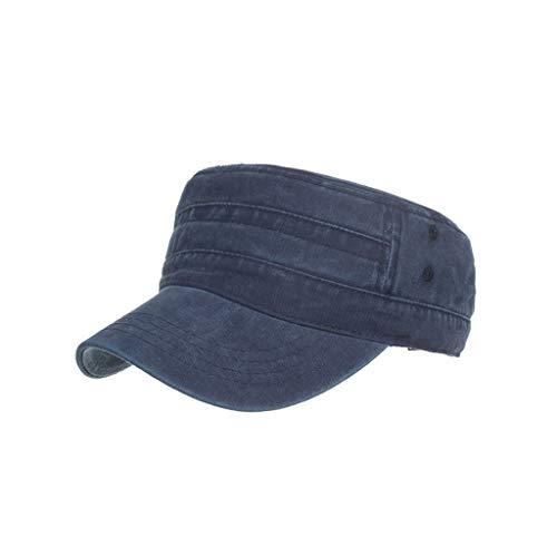 SEWORLD Gorras de algodón Lavado Caps Militares Cadete...