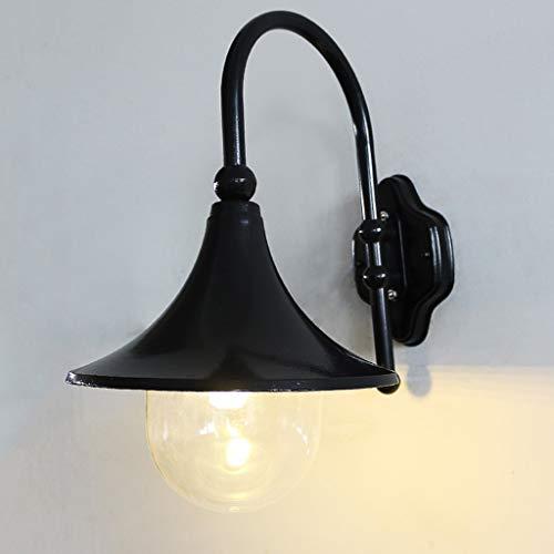 TXTC wandlampen voor buiten, waterdicht, voor het ophangen van wandlampen, voor tuin, veranda, achtertuin, decoratie, wit