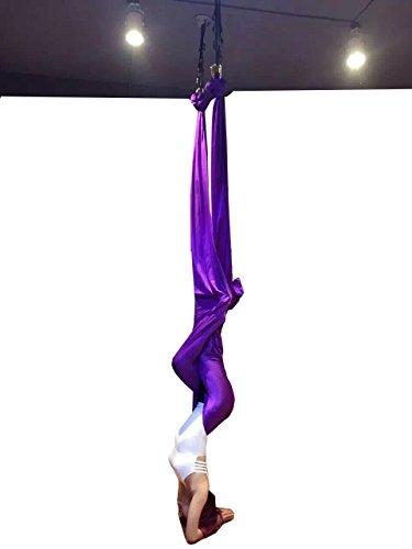 E-Bestar Premium Aerial Silks Equipment Aerial Silk Yoga Set Aerial Yoga Hammock Set Safe...