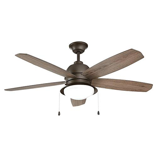 Ackerly 52 in. Integrated LED Indoor/Outdoor Bronze Ceiling Fan
