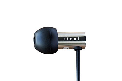 Final Audio Design E3000C H-Res Earphone Stainless Steel Black