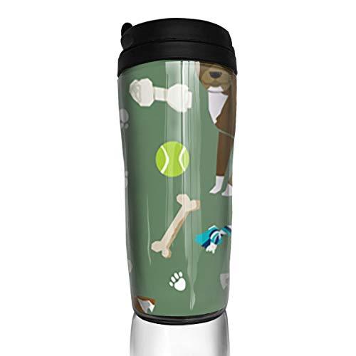 Pitbull Dog Hunde und Hundespielzeug Entwerfen Sie PitbullsCoffee-Tassen mit Eco FriendlyCoffee-Tassen für Reise und Arbeit