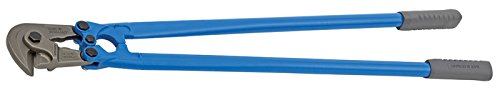 GEDORE Baustahlmattenschneider 900mm, auswechselbare Schneiden für 9mm, max. 40 HRC, Antirutsch Gummigriff, DIN ISO 5743