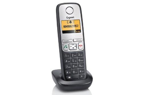 Gigaset Zusatzmobilteil A400H SCHWARZ mit Ladeschale nur für die Telefone A400 / A400A