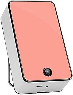Mini Aire Acondicionado de Mano USB/Mini Aire Acondicionado/radiador portátil con plástico ABS, Aire Acondicionado y Ventilador, Dos Modos comunes,Pink