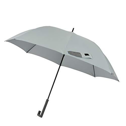 小川(Ogawa) グラスファイバー骨使用長傘 ジャンプ式 65cm innovator イノベーター 晴雨兼用 UV加工 遮熱遮光加工 はっ水 ペールブルー 18148