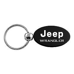 Jeep Wrangler Keychains Oval