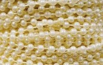 Factory Direct Craft Ivory Fused String Pearl Beads on Spools for Wedding Favors, Crafts, Decorating & Displaying & More
