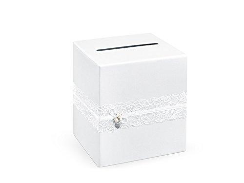 Geldbox für Hochzeitskarten Geschenkebox Hochzeitsfeier Zubehör (Spitze)