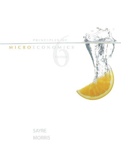 Principles of Microeconomics, 6th edition