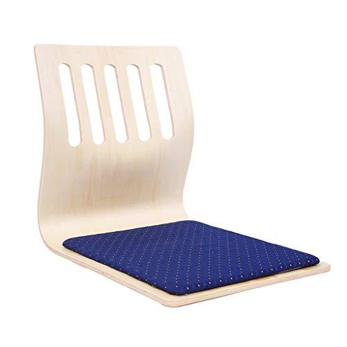 Niuniu Tatami stoel restaurant stoel van hout vloerstoel raam legless stoel