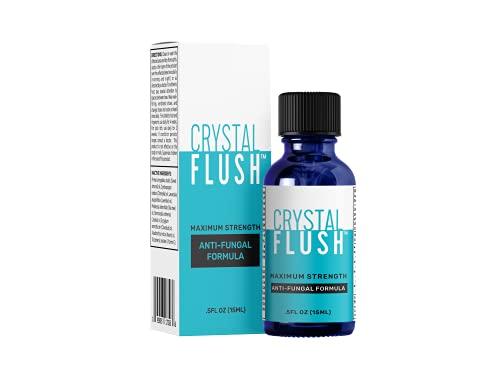 Crystal Flush Tolnaftate 1% with Essential Oils, Toenail...