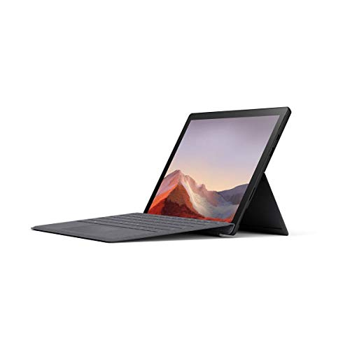 "Microsoft Surface Pro 7 12.3"" Tablet (Platinum) - Intel 10th Gen Quad Core i7, 16GB RAM, 256GB SSD, Windows 10 Home, 2019 Edition"