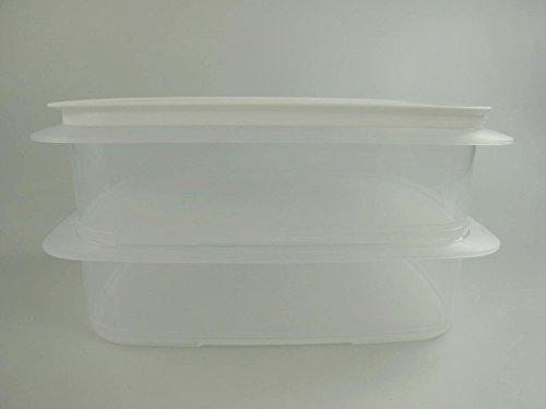 TUPPERWARE Frigosmart da 1,5L (2) transparente + Sigillo bianco