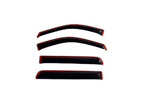 Auto Ventshade 194446 in-Channel Ventvisor Side Window Deflector, 4-Piece Set for 2013-2019 Buick Encore, 2015-2019 Chevrolet Trax