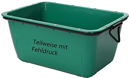 UvV®-FMK 2te Wahl Mörtelwanne, Fertigmörtelkübel mit Kranösen, grün teilweise mit Fehldruck (TüV geprüfte Qualität) (grün)