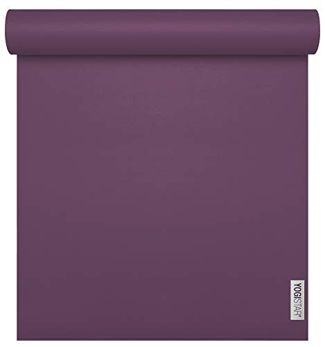 Yogistar Yogamatte Sun 4mm Plum