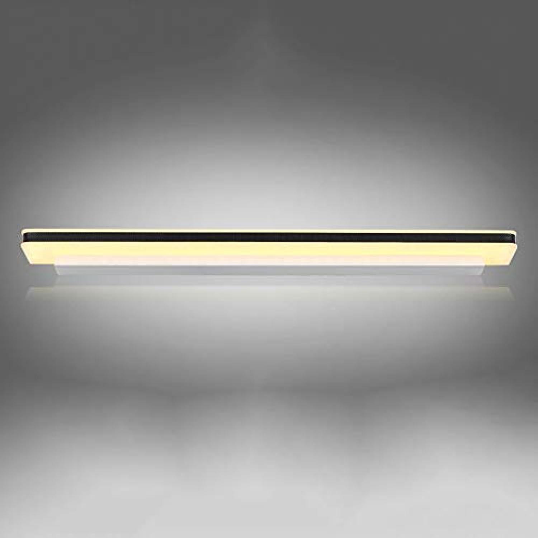 Moderne Bügeleisen Damp-proof Spiegel vorne Licht Wandleuchte LCreative Nachttischlampe Bad Spiegelleuchte Einbau-lautstrkesteller Schminkspiegel (Farbe  warmes Licht-40cm-8W)