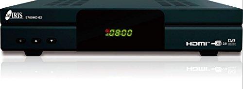 IRIS 9700 HD 02 - Receptor de TV por satélite (WiFi, HDMI,